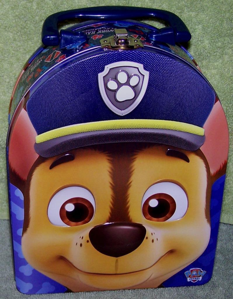 PAW PATROL CHASE Tin Carry New