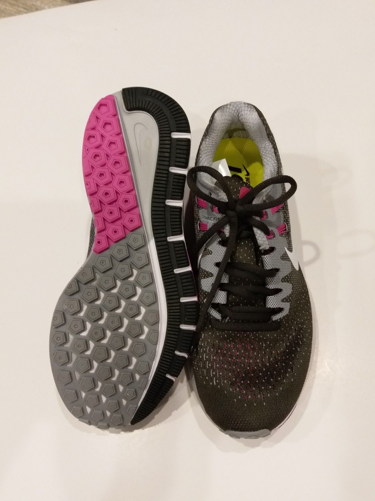 more photos 48660 27099 Wmns Nike Air Zoom Structure 20 Grey Purpul Running Shoes 849577-006 SZ-7.5