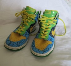 """Retro Nike Dunks High Tops """"The Simpsons"""" Throwback 11 - £50.84 GBP"""