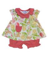 Le Top Baby 6 Months Girls Tulip Short Set  - $25.00