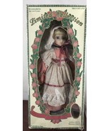 Limited Collection Doll/ Genuine Porcelain Doll And Matching Miniature O... - $9.90