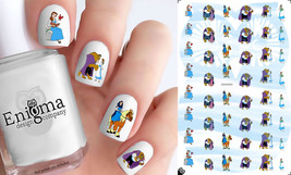 Beauty & the Beast Nail Decals - Vol I (Set of 48) - $4.95