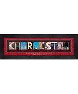 Charleston, South Carolina Framed Letter Art - $39.95