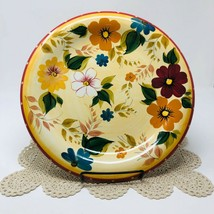 "Oneida Sunset Bouquet 10 7/8"" Dinner Plate Hand Painted Floral - $6.99"