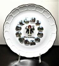 Gruss Aus Munchen With 12 Different Landmarks Souvenir Hanging Plate - $29.69
