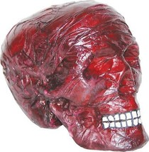 Skull Prop Burnt Halloween Haunted House Creepy Gory Realistic SS70229 - £25.86 GBP
