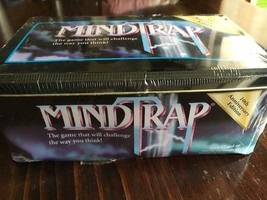 Mindtrap Tin Box 10th Anniversary Edition  Mystery Brainteaser Party Game SEALED - $18.70