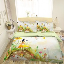 3D Cute Girl 26 Bed Pillowcases Quilt Duvet Single Queen King US Lemon - $102.84+