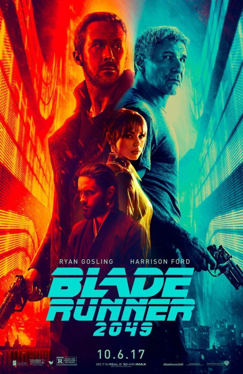 Blade Runner 2049 - original DS movie poster - 27x40 D/S Advance Ford, Gosling