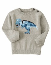 "Gymboree Boys""Sweater Weather"" Trex Dino Cotton Sweater 12 18 24 2 3   new - $18.80+"