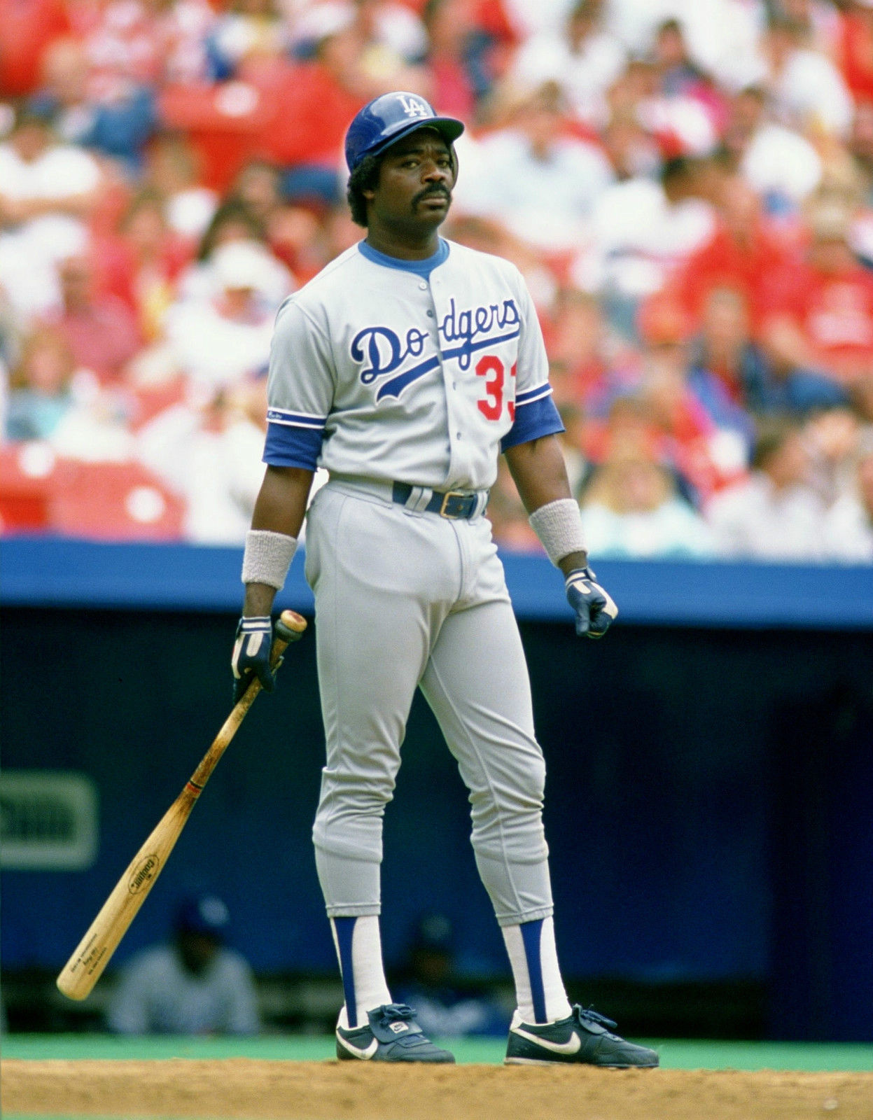 EDDIE MURRAY 8X10 PHOTO LOS ANGELES DODGERS BASEBALL PICTURE MLB