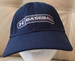 Under Armour Baseball Hat Size Large Fitted NAVY - $14.01
