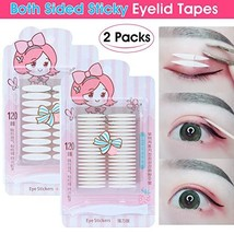 480Pcs/240Pairs Invisible Double Side Sticky Eyelid Tapes Stickers, Medi... - $13.81