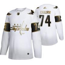 Men's John Carlson Washington Capitals White Golden Edition Jersey - $59.99