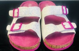 Skechers Granola Shimmer Sandals Big Girl's Pink Size 3 - $16.70