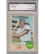 1968 Topps #73 JIm Hart FGS Graded 9.5 - $111.38