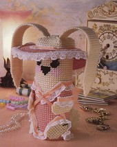 Lop-Ear Bunny Annie's New Plastic Canvas Pattern Leaflet - $1.77