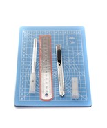 Cutting Mat Non Slip Quilting Papercraft with Ruler/Engraving Aluminium ... - $14.99