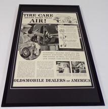 1942 Oldsmobile Dealers Framed 11x17 ORIGINAL Vintage Advertising Poster - $69.29