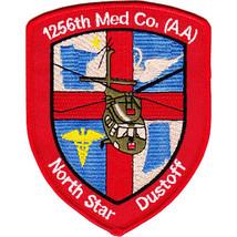 US Army 1256th Aviation Medical Company Air Ambulance Patch North Star Dustoff - $13.85