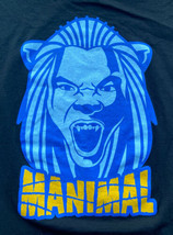 Vintage Adidas Kenneth Faried 'Manimal' T-Shirt Size 2XL Denver Nuggets NBA - $16.83