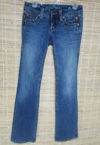 SANG REAL WOMEN'S EMBELLISHED DISTRESSED JEANS KING PHILIPP II COTTON RN# 112568
