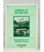 Children of the Harvest Arrangements for Women's Voices 50097 SSA Pamphl... - $21.92
