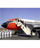 President John F. Kennedy arrives in California on Air Force One New 8x1... - $8.81