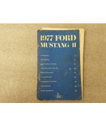 1977 FORD MUSTANG *LOOSE COVER* Owners Manual 15893 - $13.81