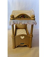 """Fisher Price 4 Poster Bed With Canopy for Dolls, 10"""" Long x 5.75 Wide x ... - $29.70"""