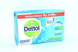 Dettol Cool Anti-Bacterial Bar Soap, 105g - $2.50