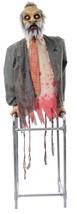 Lifesize Limbless Jim Animated ZOMBIE Haunted House HALLOWEEN PROP - £63.06 GBP