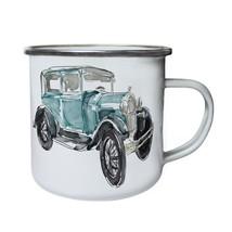 Vintage Retro Old Cars Collection Retro,Tin, Enamel 10oz Mug g852e - $13.13