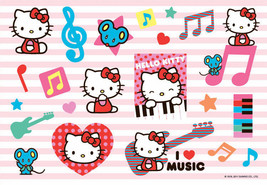 """Hello Kitty Stickers Decal Sheet Sticker Adhesive 5.75"""" x 4"""" NEW - $1.91"""