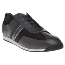 Hugo Boss Men's Premium Sport Profile Sneaker Shoes Maze Lowp Neo Dark Gray