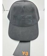 Adidas Yohji Yamamoto Y-3 Logo one size adjustable Hat Cap black - $74.25