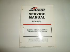 1994 Mercruiser Revision Efi Mcm 454 502 Mie 454 Service Manuell Warped ... - $39.59