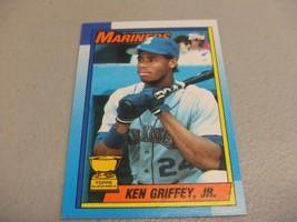 1990 Topps #336 ROOKIE CUP Ken Griffey Jr -Seattle Mariners- - $3.12