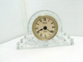 Godinger Crystal Legends Quartz Crystal Desk Clock - $14.84