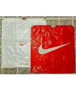 "Nike Drawstring Shopping Bag USED LOT 19"" x 20"" Christmas Wrap Craft Pro... - $9.90"