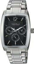 Caravelle New York Men's Quartz Stainless Steel Casual Watch, (Model: 43... - £206.94 GBP