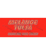 Bonanza Booth Banner- Orange, Red and Blue on Bright Plaster - $5.99