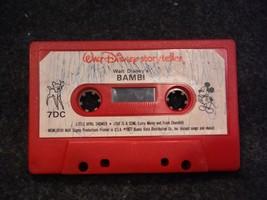 Walt Disney Storyteller Walt Disney's Bambi(Cassette, 1977)  7-DC - $2.69