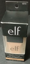 Foundation Flawless Finish SPF15 Sunscreen Oil Free Caramel ELF - $9.78
