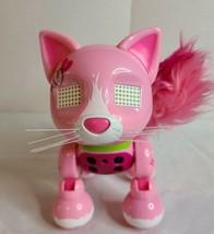 Spin Master ZOOMER Meowzies Runaway Interactive Toy Cat Kitty Kitten Pink 2016 - $10.00