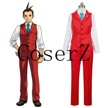 Gyakuten Saiban Apollo Justice4: Ace Attorney Polly Red Lawyer Suit Cosplay Cost - $89.00