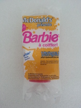 McDonalds 1993 Presents Western Stampin' Barbie With Hair You Can Style ... - $4.99
