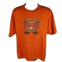 Daytona Beach Biketoberfest Mens T-Shirt Sz XXL Cruisin Cafe 2007 Orange - $17.22