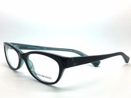 Emporio Armani EA 3008 Eyeglasses 51-16-135 Black Azure Variegated 5052 ... - $79.49