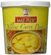 Mae Ploy Thai Yellow Curry Paste - 14 oz jar - SET OF 3 - $33.65